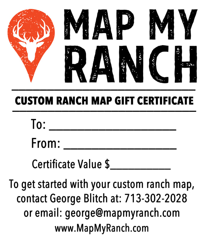 Map My Ranch Gift Certificates Map My Ranch